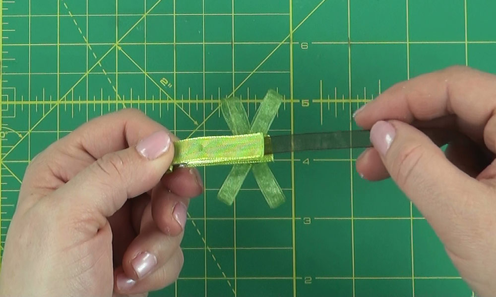 Finishing up Dragonfly Hair Clip