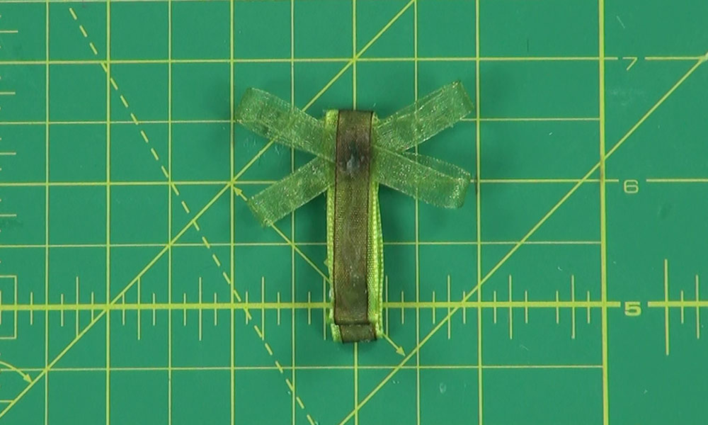 Completed Dragonfly Hair Clip