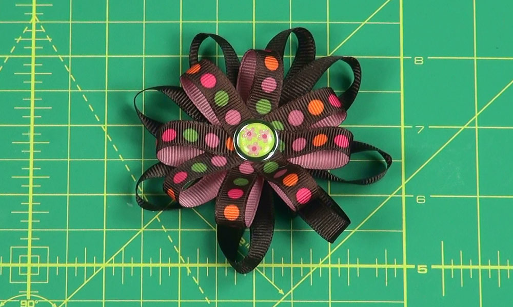 Completed Flower Bow